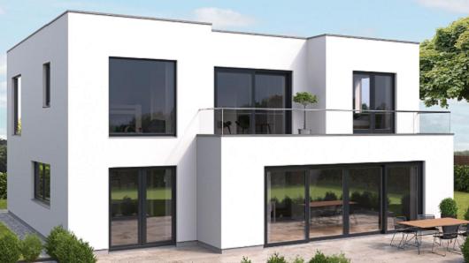 Schwarze fenster von mainfenster ausf hrung in kunststoff oder aluminium - Schwarze fenster ...