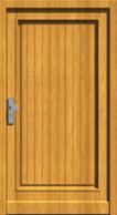 Holzhaustür Wieseck