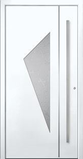 Aluminium Haustür Oppenrod