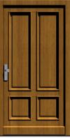 Holzhaustür Bersrod